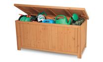 Wooden Outdoor Storage Box