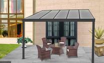 Aluminium Patio Canopy in Six Sizes