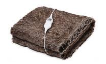Goldair Faux Fur Heated Throw
